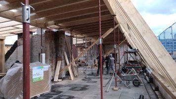 Sanierung Deckenbalkenlage und Dachstuhl / BZG