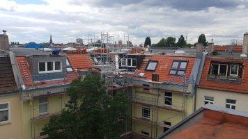 BZG / Berlin / Sanierung der Dachfläche